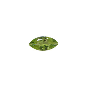 Natural Peridot Faceted Gemstone
