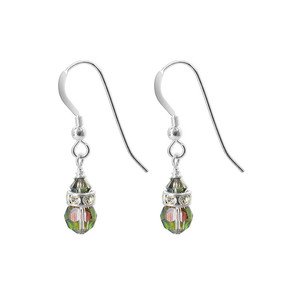 Vitrail Crystal Drop Earrings