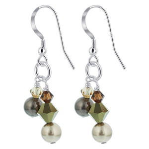 Faux Pearl Handmade Drop Earrings