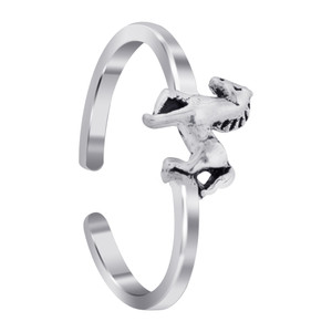 Sterling Silver Horse Toe Ring