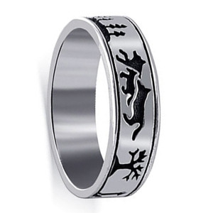 Sterling Silver Southwestern Style Band