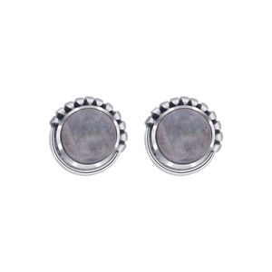 Moonstone Sterling Silver Stud Earrings