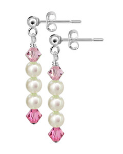 Freshwater Pearl Post-Back Drop Earrings