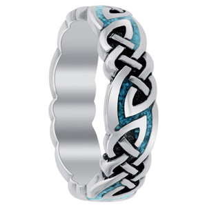 Turqouise Gemstone Band