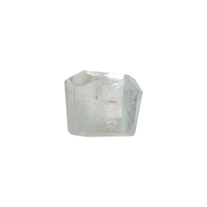 Natural Faceted Aquamarine Mineral Crystal