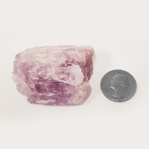 Natural Kunzite Mineral Crystal