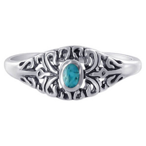 925 Silver Turquoise Ring