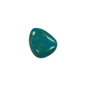 Natural Green Turquoise Cabochon Gemstone