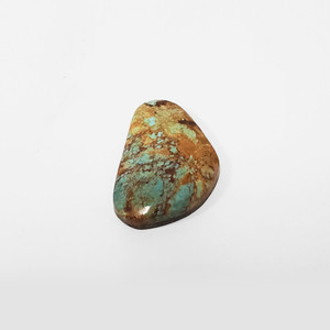 Natural #8 Turquoise 42 Carat Cabochon Gemstone for Jewelry Making