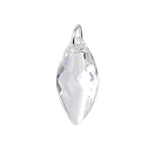 925 Sterling Silver Clear Crystal Pendant