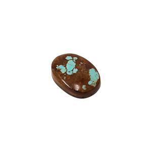 Natural #8 Turquoise 25 CT Cabochon Gemstone for DIY Jewelry Making