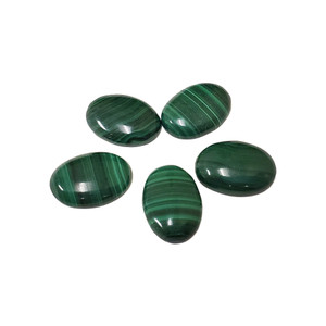 Oval Shaped Green Malachite