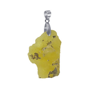 Natural Brucite Crystal Pendant