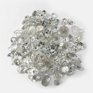 Natural Diamond Quartz Crystal Gemstone