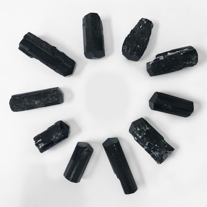 Black Tourmaline Crystal Gemstone