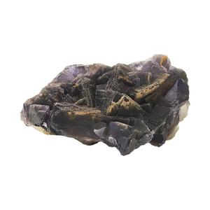 Natural Purple Fluorite Crystal Gemstone