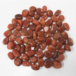 Fire Agate Heated Tumbled Stones