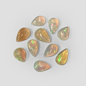 Opal Gemstone Pear Teardrop Cabochon