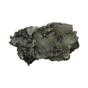 Natural Siderite Pyrite and Muscovite Crystal Gemstone Mineral