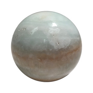Polished Calcite Crystal Sphere
