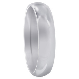 Stainless Steel Plain 5mm Wedding Band