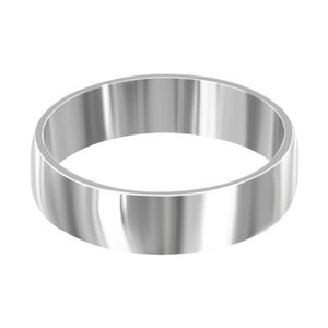 Stainless Steel Engravable 6mm Band #LWSSR006