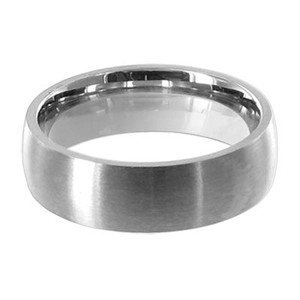 Stainless Steel Engravable 6mm Band #LWSSR009