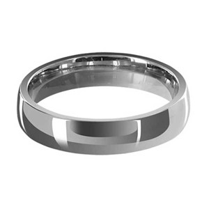 Stainless Steel 4mm Plain Band #LWSSR022