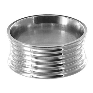 Stainless Steel Engravable 10mm Band #LWSSR023