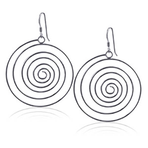 Swirl Dangle Earrings