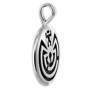 Sterling Silver Oxidized Pendant