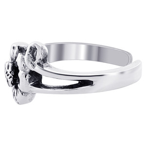 925 Sterling Silver Flower Toe Ring for Women #FVTS003