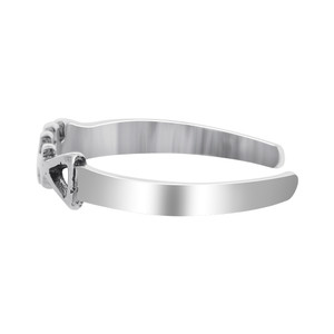 925 Sterling Silver Fish bone Toe Ring #NNTS001