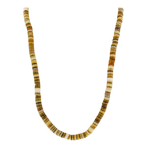 5mm wide Shell Necklace
