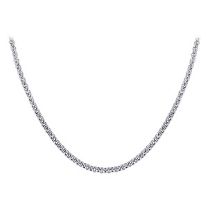 Stainless Steel 2.2mm wide Rolo Chain Necklace