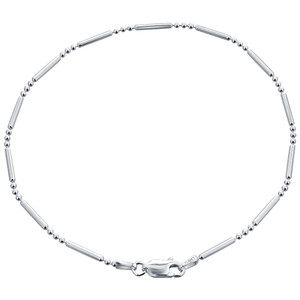 925 Sterling Silver Chain Anklet
