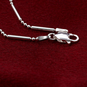 Italian 925 Sterling Silver Foot Chain Anklet for women with Lobster Claw Clasp