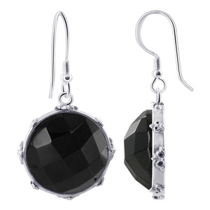 Black Onyx Earrings Pendant set