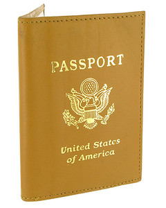 Leather Cover Passport Holder Travel Wallet with Logo Available in Different Colors #MW30151LOGO