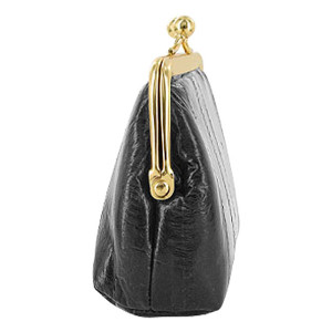 Smooth Eel Skin Leather Coin Purse