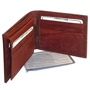 Mens Bifold Flip ID Credit Card Holder Wallet Available in Different Colors #MW533
