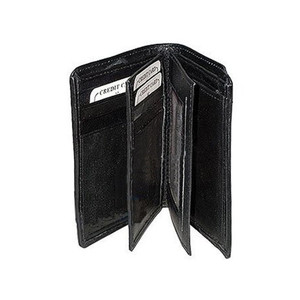 Mens and Womens Leather Bi Fold Wallet Credit Card Holder Available in Different Colors