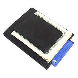 MWmed910R Magnetic Money Clip Card Holder Leather Wallet Available in Different Colors