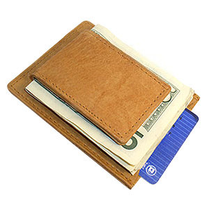Magnetic Money Clip Card Holder Leather Wallet Available in Different Colors #MWmed910R