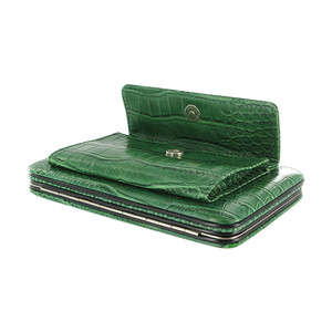 Spacious Clutch Purse Wallet with Strap Available in Different Colors