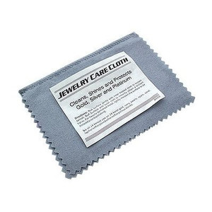 Gold and Silver Jewelry Instant Cleaning and Polishing Cloth