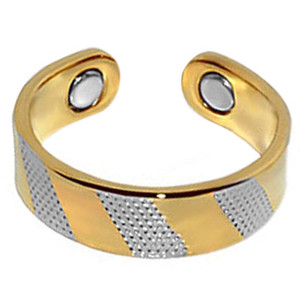Two Tone Magnetic Band Fits Size 7 & Above