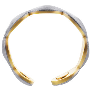 Two Tone Magnetic Band Size 7 & Above #JRM5535TT