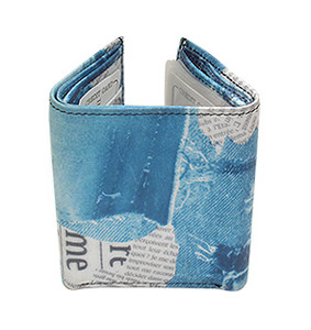 Mens Trifold Credit Card Holder Purse Wallet