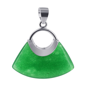 Green Gemstone Handbag Pendant